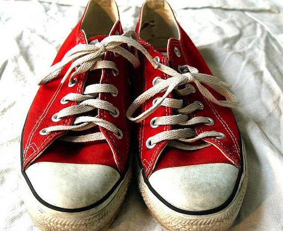 Picture of Chuck Taylors shoes, by Kables