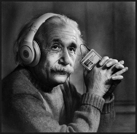 einstein-headphones-think-different