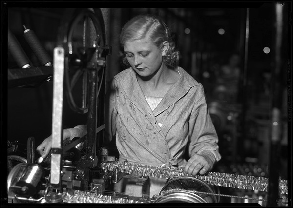 Woman in factory by George Eastman House