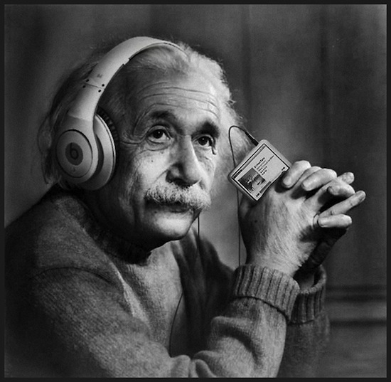 einstein-headphones-think-different