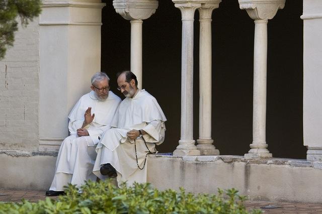 Older men, spiritual, friars