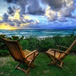 Two Chairs at Beach, by Trey Ratcliff on Flickr